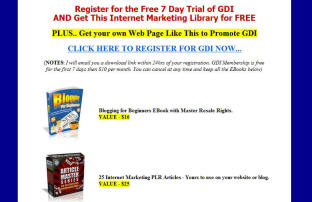 Global Domains International Bonus