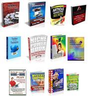 Trouvez de nombreuses idées d'affaires Internet avec ces livres électroniques pour les entreprises à domicile